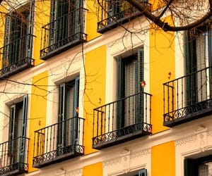 yellow, architecture, and building image