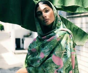 green, hijab, and iran image