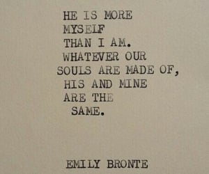 wuthering heights and emily bronte image