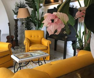 yellow, home, and decor image