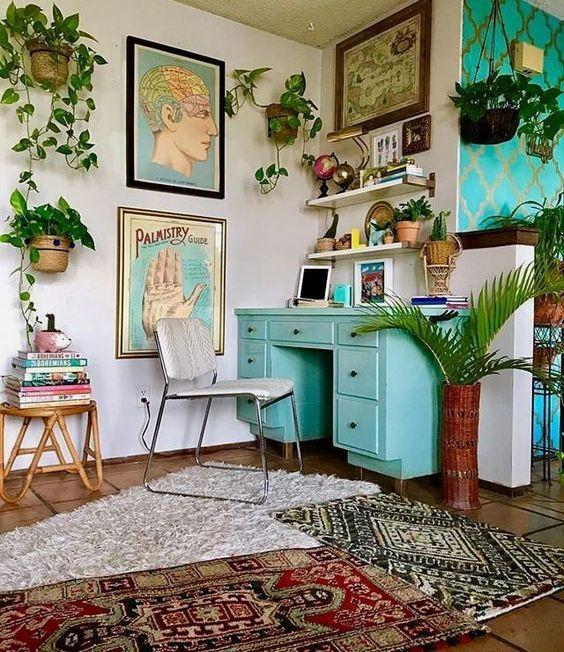 30 Modern Bohemian Interior Design Ideas - home - #Bohemian ...