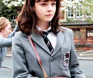 girl, Carey Mulligan, and an education image