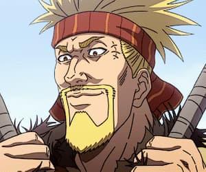 anime, gif, and vinland saga image