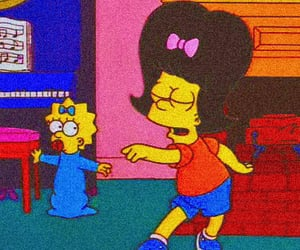 aesthetic, the simpsons, and bart image
