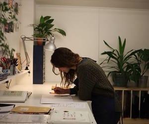plants and study image