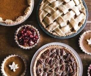 dessert, pie, and apple image