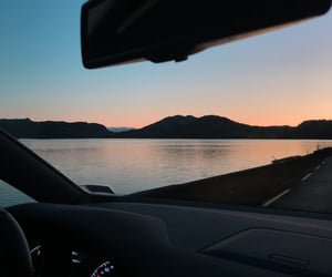 car, nature, and norway image
