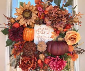 etsy, fall leaves, and home decor image