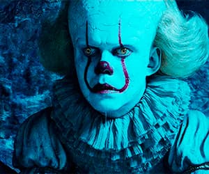 film, it, and pennywise image