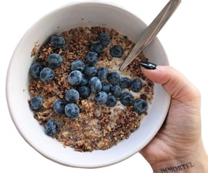 healthy, blueberry, and fruit image
