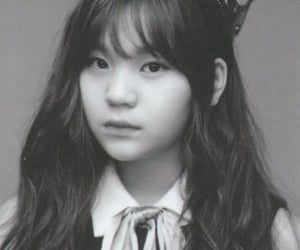 b&w, black and white, and kpop image