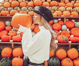 autumn, girl, and fashion image