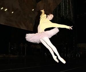 ballerina, dance, and jump image