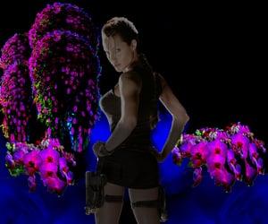 2001, Angelina Jolie, and tomb raider image