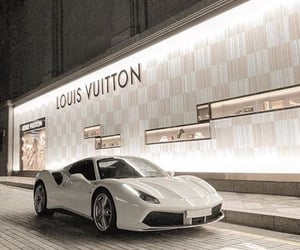 car, Louis Vuitton, and luxury image