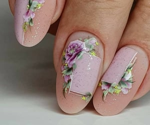 flowers, glitter, and ideas image