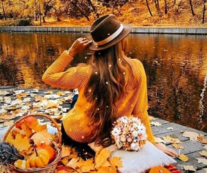 autumn, cider, and colorful image
