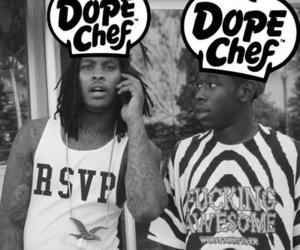 waka flocka, tyler the creator, and dope chef image