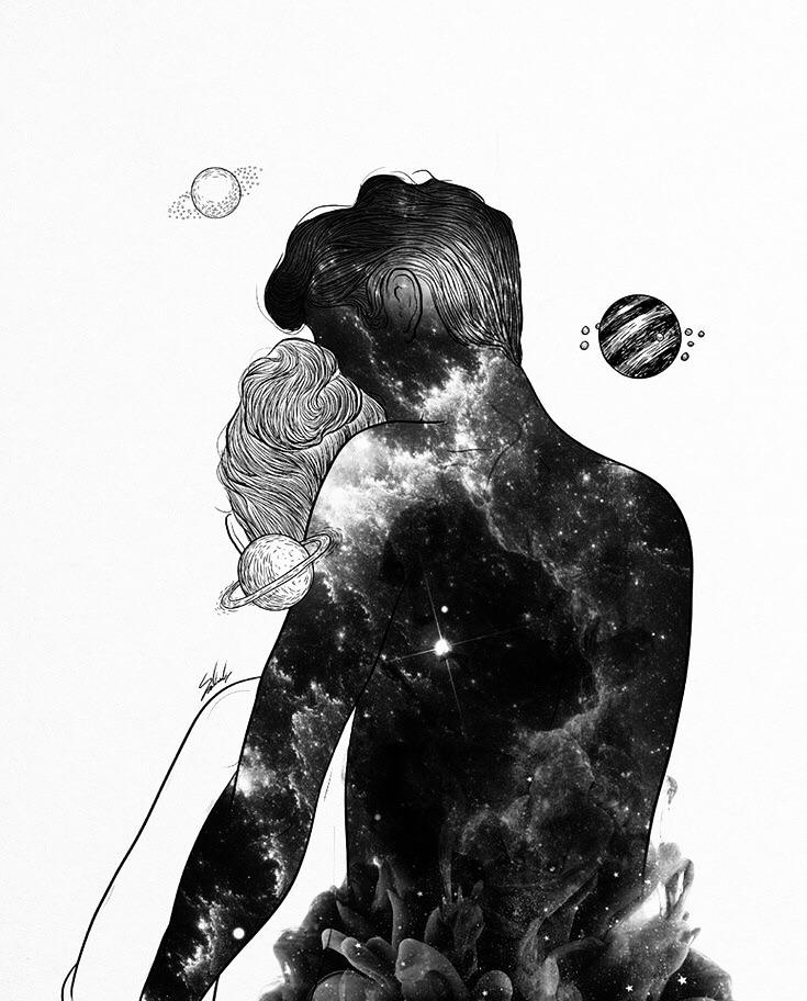 Imagen de art, cool, and drawing