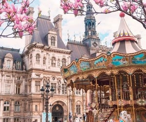 travel, spring, and france image