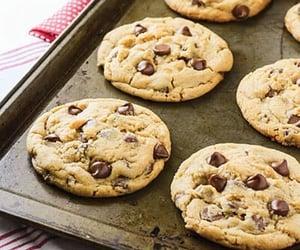 bake, chocolate chip, and food image