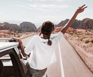 travel, braid, and desert image