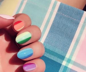 colors, nail art, and nails image