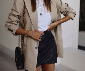 fashion, outfit, and jewelry image