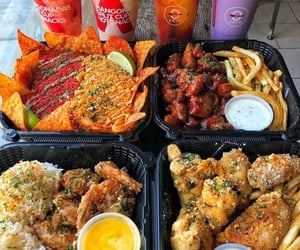 Chicken, delicious, and dessert image