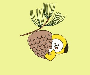 chimmy, bt21, and wallpaper image