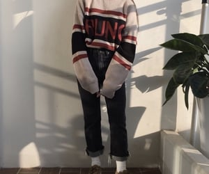 outfit, aesthetic, and kfashion image