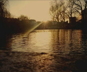 photography, beautiful city lake, and travel sunset tranquility image