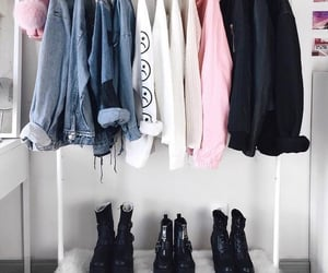 clothes, style, and black image