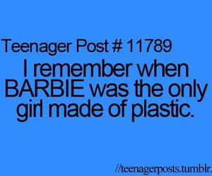 barbie, girl, and plastic image