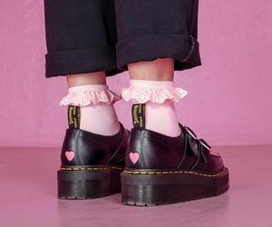 alternative, doc martens, and fashion image