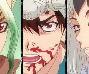 anime, chrome, and anime boy image
