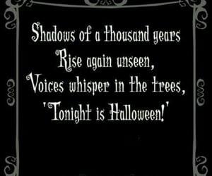 Halloween, dark, and quote image