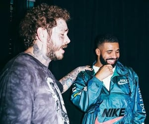 Drake and post malone image