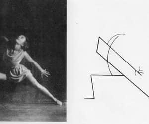 art, b&w, and dance image