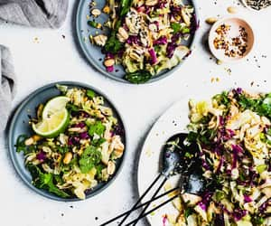 delicious, food porn, and salad image