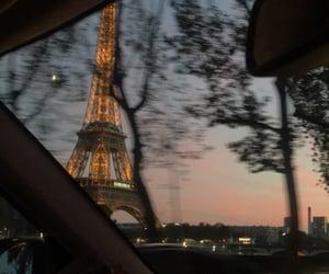 paris, aesthetic, and night image
