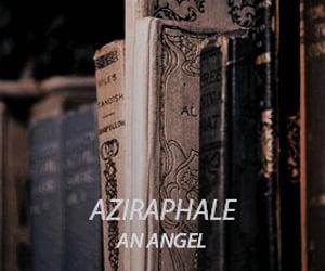 angel, aziraphale, and character image