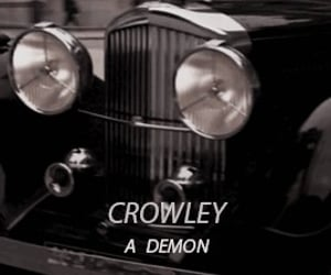 character, crowley, and demon image