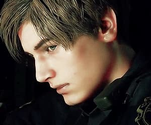 gif, resident evil, and leon kennedy image