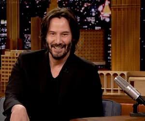 actor, gif, and keanu reeves image