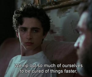 call me by your name, movie, and quotes image