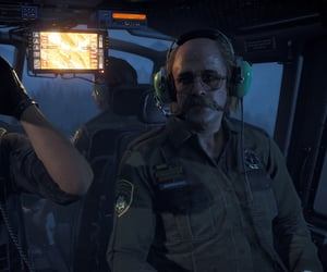 helicopter, uniform, and hope county image