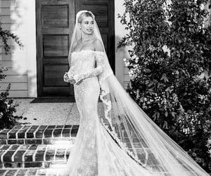 bridal, veil, and bride image
