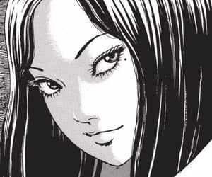 horror, manga, and tomie image