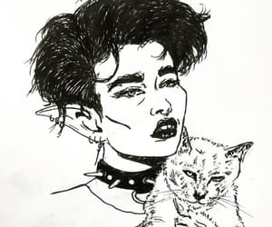 aesthetic, goth, and alternative image